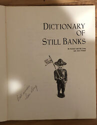 Dictionary Of Still Banks By Earnest And Ida Long And Jane Pitman 1980 Pb Signed