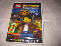 LEGO The ADVENTURES OF CLUTCH POWERS Movie DVD Sealed NEW $6.99