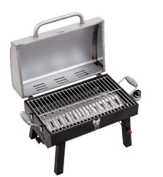 Char-broil 200 Liquid Propane, Lp, Portable Stainless Steel Gas Grill