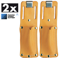 2 Each Pacific Handy Cutter Leather Holster For Safety Box Cutters