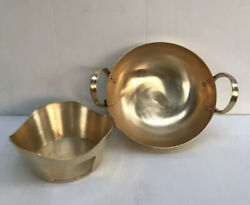 Thai Traditional Wok Brass 7 In And Stove 5.5 In Burner Set X10 Get Free Wok 8.5