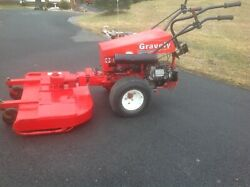 Gravley 13.5 Hp.tractor Like New. Only 321hrs