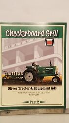 Checkerboard Grill Oliver Tractor And Equipment Ads Part 2 By Tim Putt