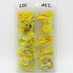 Blue Fox Tackle Co Foxee Jig Loose Nos Large Lot No 12