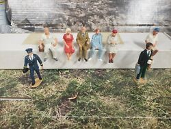 O Lot Of 8 Lgb And G Scale Figures For Train Layouts