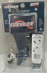 Vintage Evinrude 225 H.p. H.o. Outboard Motor Trailer Hitch Cover Nos Mib