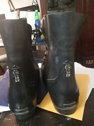 Cold Weather Military Mickey Mouse Boots Size 10 Xw 1970. Very Good Condition