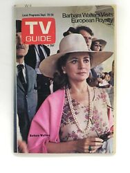 Sept 20 1975 N. Wisconsin Tv Guide Barbara Walters / Ad For Cbs Shazam - Isis