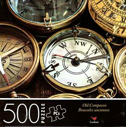 Old Compasses - 500 Piece Jigsaw Puzzle