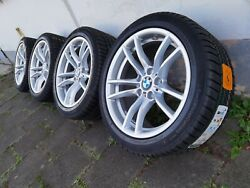 Roues 18 Pouces Bmw M3 F80 M4 F82 F83 Rayons Doubles M640 Continental Rdk Neuf