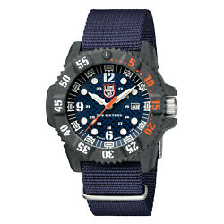 Luminox Diver Watch Xs.3803.c Master Carbon Seal Sapphire Glass 30 Atm