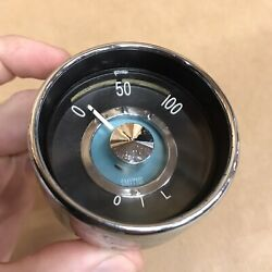 Volvo Oil Pressure Smith Smiths Gauge P1800 1800 1800s Very Nice Great Shape