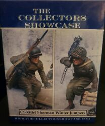 Collectors Showcase Cs00464 Ww2 Us American Sherman Winter Jumpers Soldier Gi