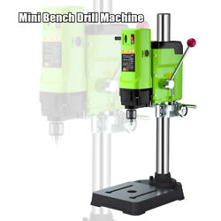 Mini Bench Drill Machine Variable Speed Chuck 1-16mm For Diy Wood Metal Drilling