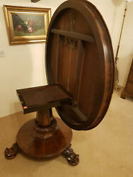 Antique William Iv Rosewood Tilt-top Breakfast Table Exceptional