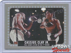 2021 Topps The Peopleandrsquos Champ Muhammad Ali 2/5 8 Grey Parallel/variation