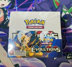 Pokemon Tcg Xy Evolutions Sealed Booster Box - Pack Of 36 - Ships Same Day