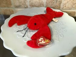 Pinchers The Lobster - Rare 1993 Ty Beanie Baby
