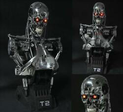 Terminator Judgment Day T2/t800 11 Life-size Bust Figure Statue Resin Model Toy