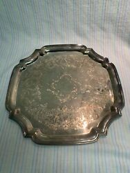 Poole Silver Company Epca Serving Tray Platter