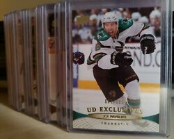 2011-12 Upper Deck Ud Exclusives /100 Series 1 And 2 - Finish Your Set. Com. Shipp
