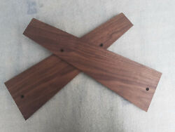 Sequential Circuits Pro One Analog Synthesizer Side Panels American Walnut Wood