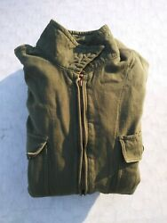 Ww2 Us Army Ans-31-a Flight Suit Size 38 Medium - Mfg Reed Products