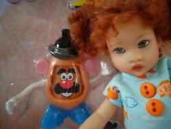 Miniature Mr. Potato Head For Riley Kish Ginny Betsy Or Other 7-14 Doll Diorama