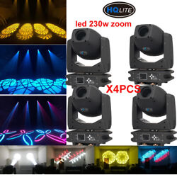 Led 230w Gobo Beam Zoom Moving Head Light Double Prism Stage Wedding Dj Party