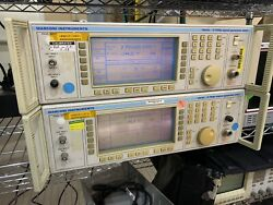 1 Aeroflex Ifr Marconi 2031 10khz-2.7 Ghz Signal Generator/sweeper Accurate