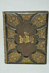 Rare Vintage 1880s The Holy Bible Holman's Edition Old And New Testaments