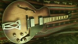 Ibanez Agv10a- New -w/o Original Packaging-hollow Body-sun Burst-antiqued Wood