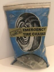 Vintage 1950s 1960s Peerless Emergency Tire Chains Ford Chevy Hotrod Ratrod