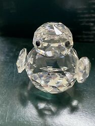 New Glass Crystal Figuerines Collectible Cute Duck Chick Animal