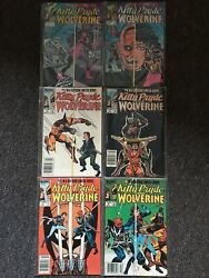 1984 Marvel Comics Kitty Pryde And Wolverine Complete Series 1-6 1,2,3,4,5,6