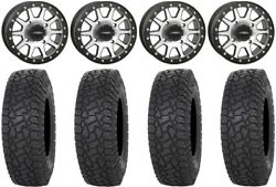 System 3 Sb-3 Machined 15 Wheels 35 X Comp At Tires Can-am Maverick X3
