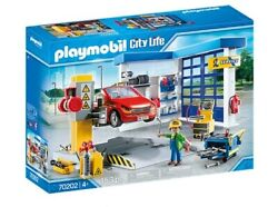 Playmobil 70202 City Life Vehicle World Garage And Workshop With Car