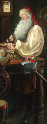 Dean Morrissey Father Christmas The Workshop Mw Giclee Canvas Artist Proof A/p