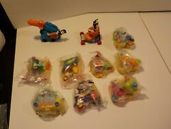 D Mcdonalds 90's Happy Meal Toys Animaniacs Lot Of 10 New Sealed Baggies