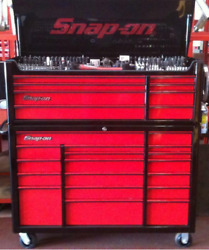 Snap On Racing Red Black Extra Wide Tool Box No Tool Mac Sealey Pico In Wembley