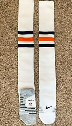 Nike Grip Chicago Bears Nfl Team Player Issued Football Game Socks Size L Large