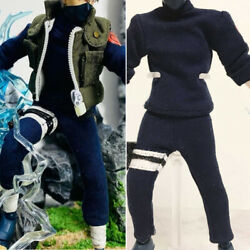 Hatake Kakashi Outfit Clothes Set 1/12 For 6in Shf Action Figure Model Accessory