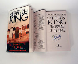 Stephen King Signed Autograph The Dark Tower Ii The Drawing Of The Three Book