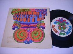 W Picture Sleeve Clark Gum Shuffle 1966 45rpm Ep
