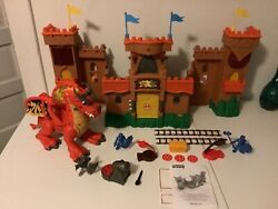 Fisher Price Imaginext Eagle Talon Medieval Castle Play Set Lights And Sounds 2012