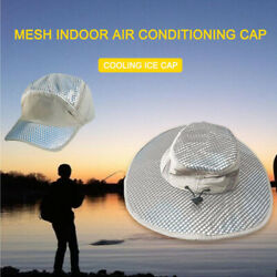Hydro Cooling Bucket Hat Unisex Arctic Hat Uv Protection Ice Cap Sunscreen