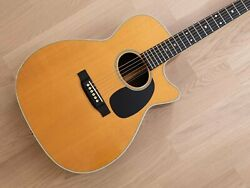 1994 Martin Mc-28 Acoustic Guitar Oval Soundhole Spruce And Rosewood W/ Case Jc-40