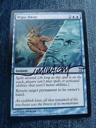 Wipe Away Time Spiral Ed Signed By Jeff Miracola Mtg