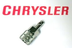 Chrysler Force Hose End Fuel Connector 5- 125 Hp 1964- 97 Replaces F197787-2