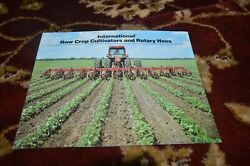 International Harvester Row Crop Cultivators And Rotary Hoes Brochure Fcca